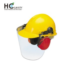 Safety Helmet Face Shield Set H302-A PC